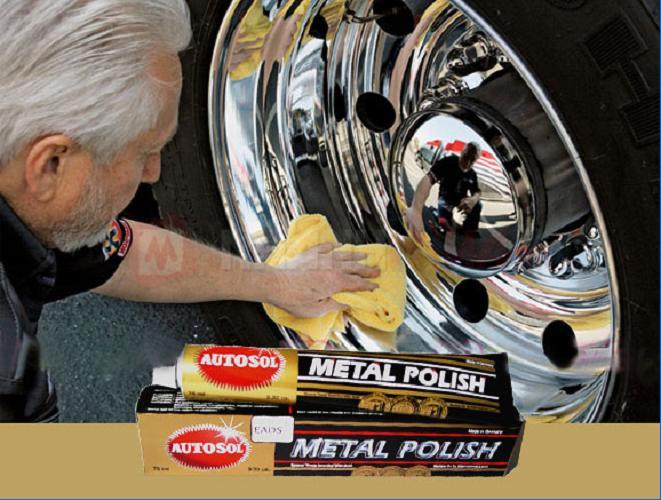 Hình ảnh Kem đánh bóng kim loại Autosol sạch bóng