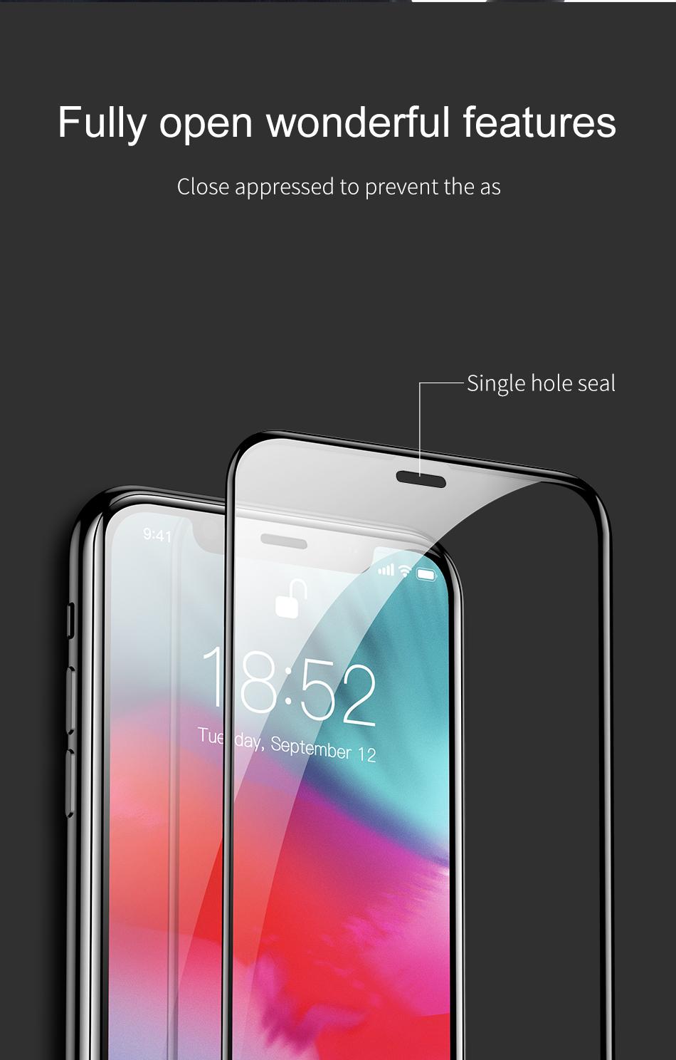 Miếng dán kính cường lự Full 3D cho iPhone 11 - 11 Pro - 11 Pro Max - iPhone X - Xs - Xs Max - XR hiệu JCPAL Canada