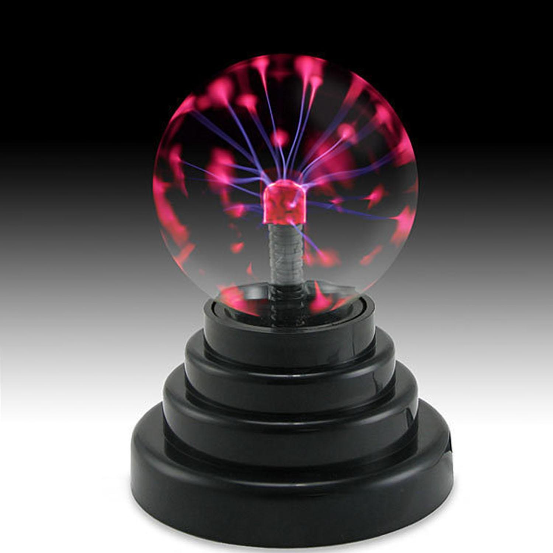 Hình ảnh Touch Sensitive Lightning Plasma Ball Light Magic Ball Lamp For Party Bedroom Decoration Prop Christmas Birthday Gift - intl
