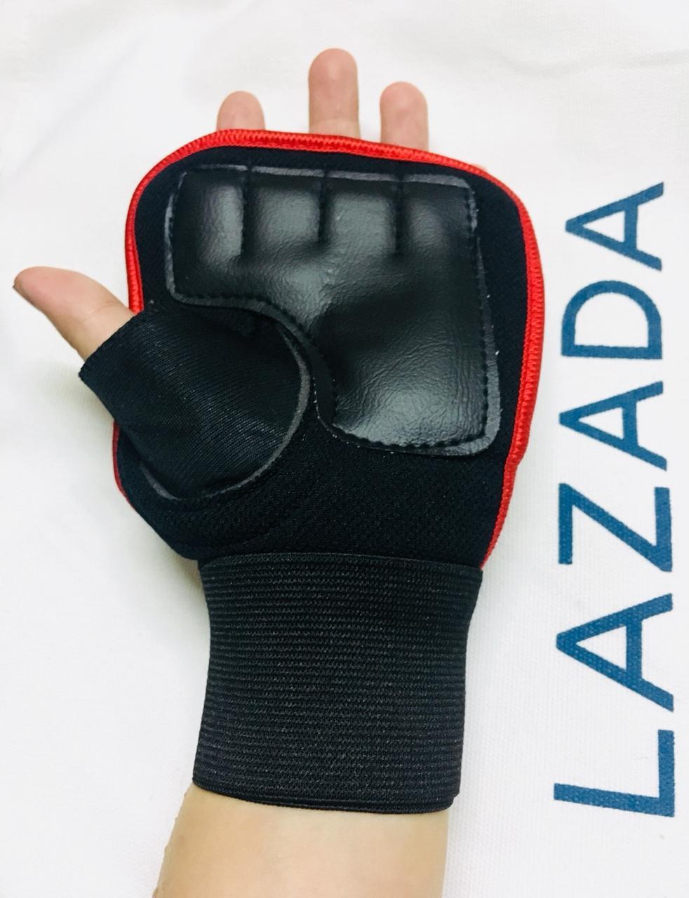 Hình ảnh RẺ VÔ ĐỊCH 1 cặp Bao tay Găng tay tập Gym tích hợp quấn cổ tay 2in1 FREESHIP từ 99k