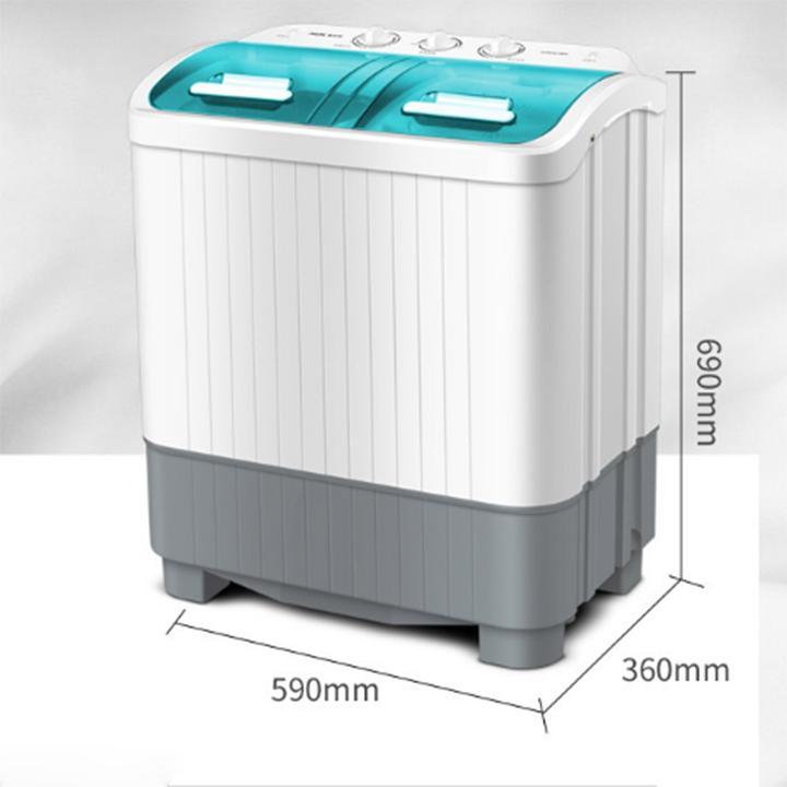 Hình ảnh Máy giặt mini 2 lồng giặt