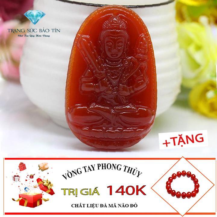 Giá Bán Mặt Day Chuyền Phong Thủy Phật Hư Khong Tạng Bồ Tat Đỏ Thương Hiệu Bảo Tin Đỏ Trực Tuyến