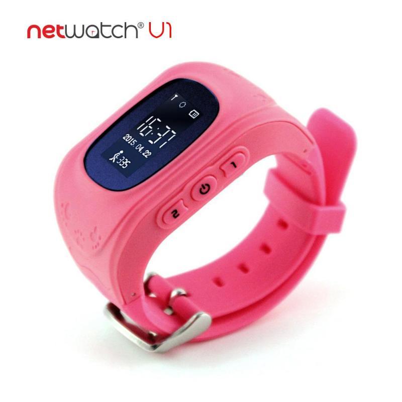 NetWatch® V1 Hồng - Đồng hồ định vị CHÍNH HÃNG - Nhỏ gọn, Giá rẻ bán chạy
