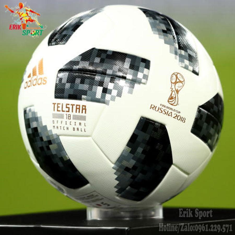 Hình ảnh Quả bóng đá World Cup 2018 TELSTAR (Màu Trắng Đen,Đỏ)
