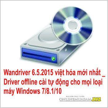 Hình ảnh Bộ DVD Driver offline cài tự động Windows ALL 7_8_10