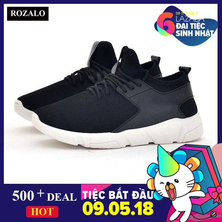 Mã Khuyến Mại Giay Sneaker Thể Thao Nam Nữ Thoang Khi Kiểu Day Buộc Rozalo Rw43105 Rozalo Mới Nhất