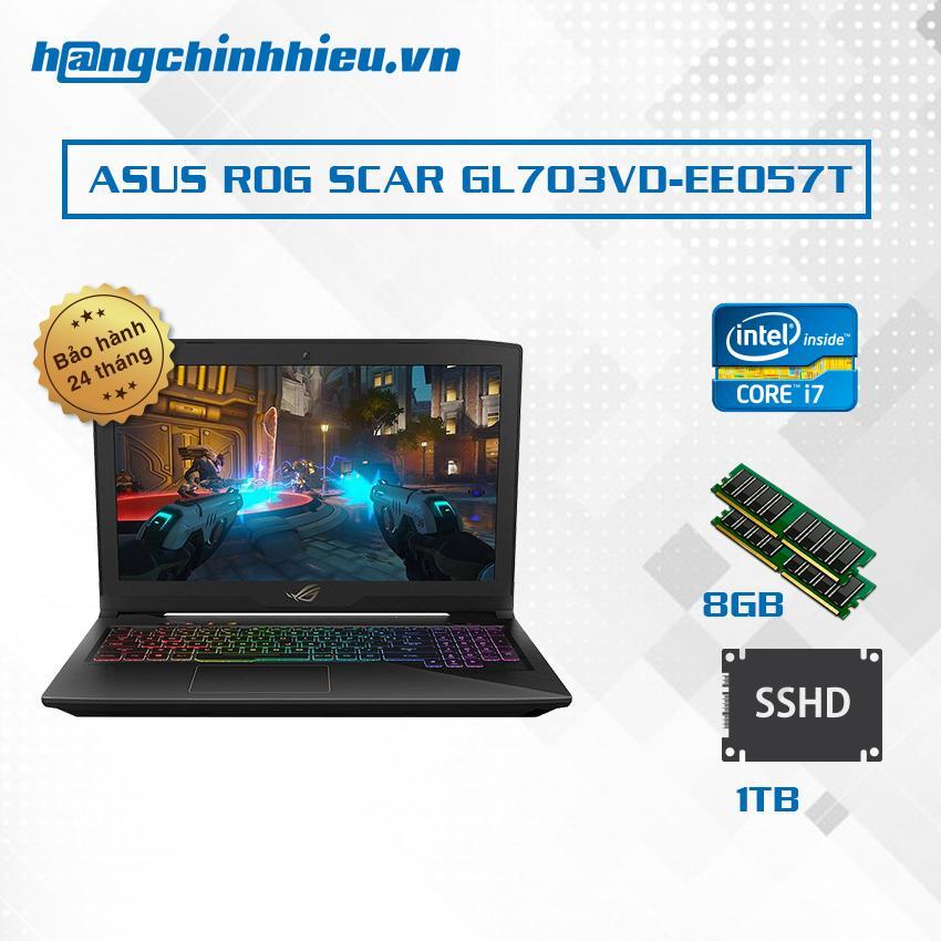Hình ảnh Laptop ASUS ROG SCAR GL703VD-EE057T i7-7700HQ 17.3