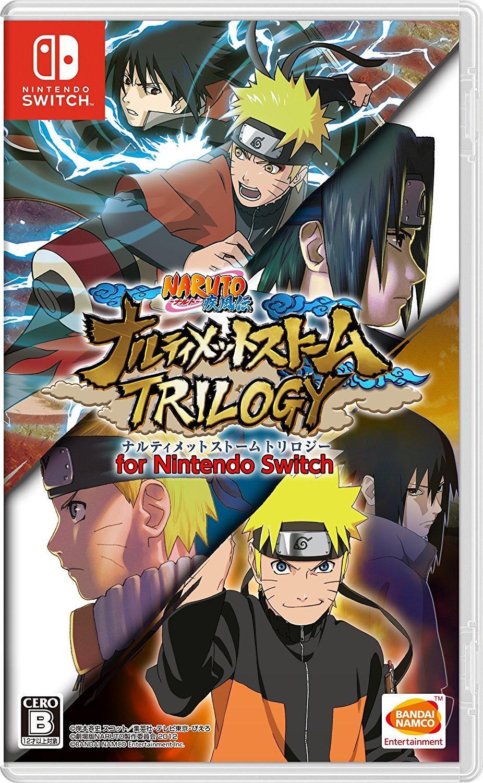 Hình ảnh Đĩa Game Nintendo Switch Mới (Bản Tiếng Nhật) - Naruto Shippuden Ultimate Ninja Storm Trilogy