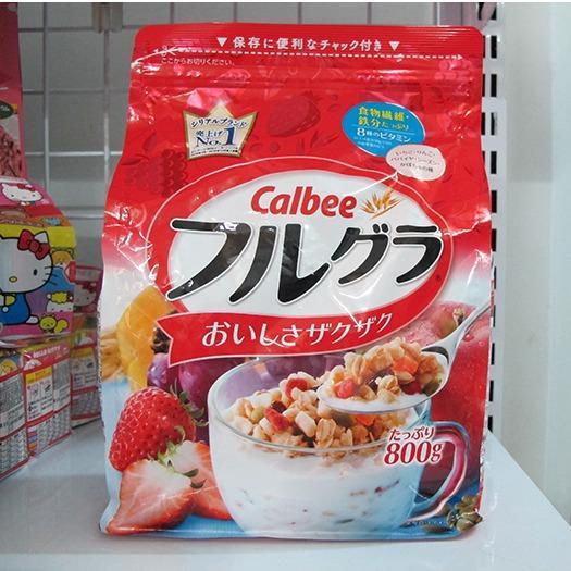 Giá Bán Date 08 2018 Ngũ Cốc Dinh Dưỡng Calbee Nhật Bản Nhãn Hiệu Nhật Bản