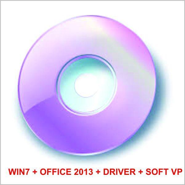 Hình ảnh Bộ DVD COMBO WIN 7 ALL + OFFICE 2013 + HIREN BOOT
