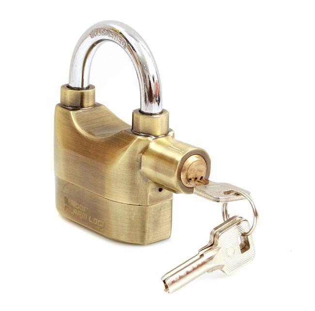 Ổ khóa báo động K106 Vàng đồng