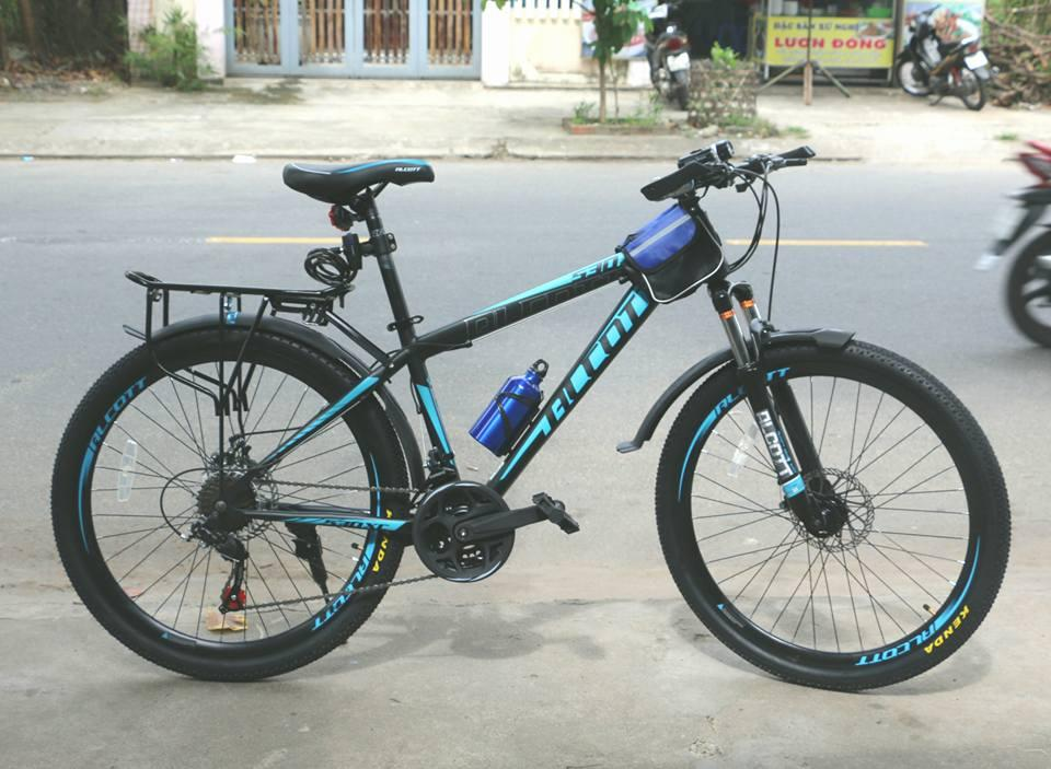 Xe đạp địa hình Alcott 530-XC màu xanh ngọc