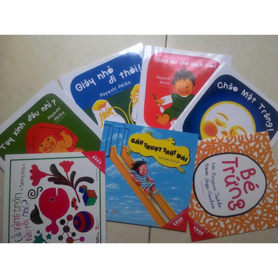 Mua ehon Nhật bản cho t từ 0-3 tuổi (7 quyển)