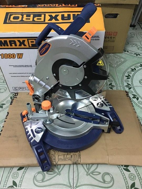 Máy cắt nhôm Maxpro MPBMS255L (Có đèn Lazer hành trình)