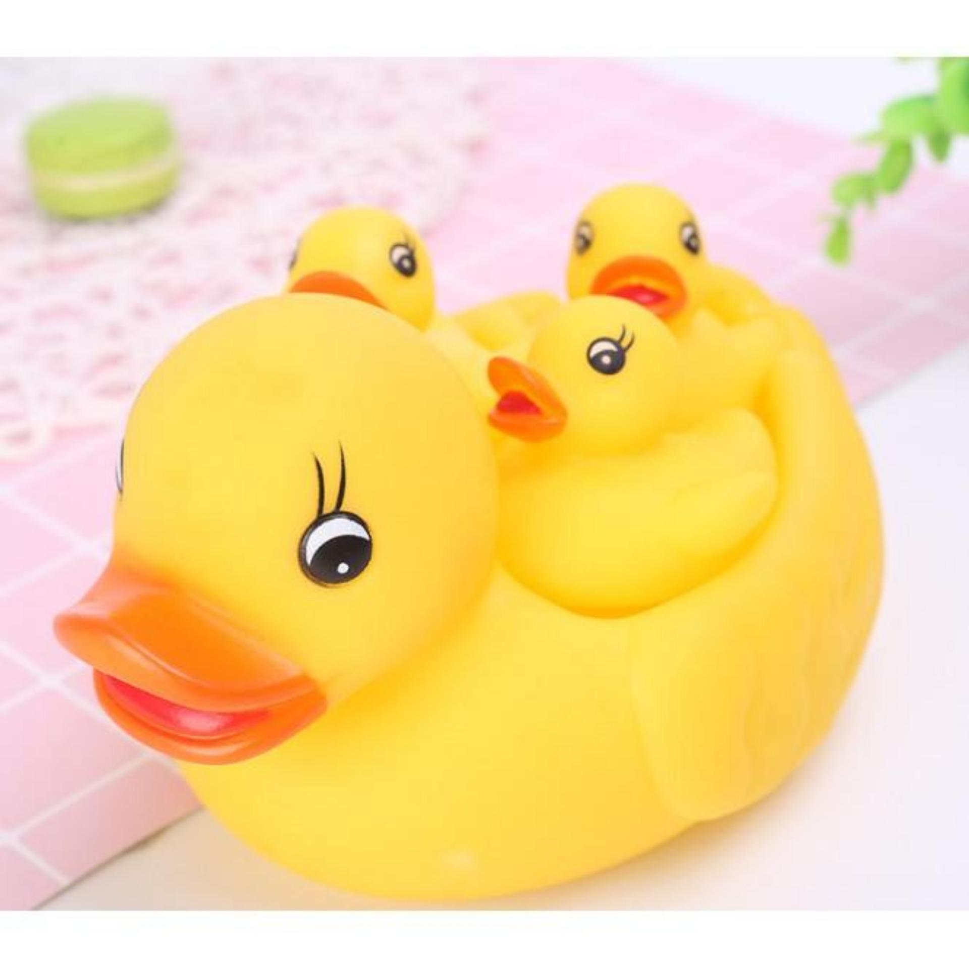 Hình ảnh Đồ chơi bồn tắm cho bé Vịt mẹ và 3 vịt con