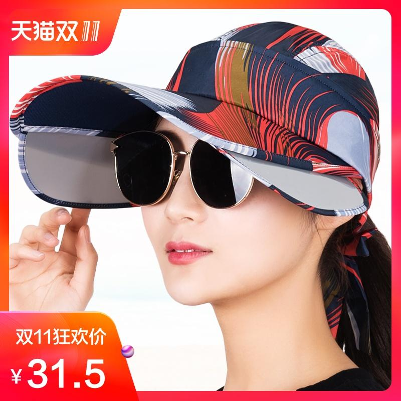 Detail Gambar Topi matahari perempuan Pelindung Terik Matahari perlindungan  UV topi Pelindung Sinar Matahari perjalanan Pantai 70361a2aa4