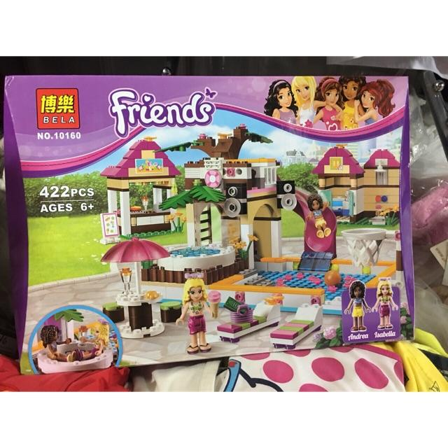 Lego Friends 10160-ngôi nhà dễ thương 422 chi tiết