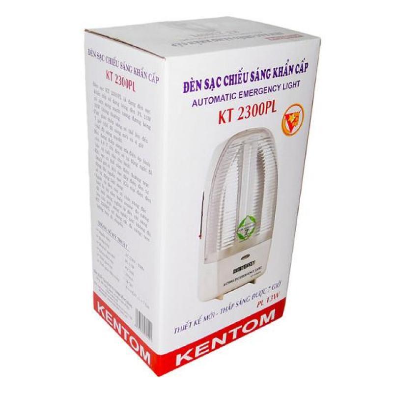Bảng giá Đèn sạc chiếu sáng khẩn cấp Kentom KT 2300PL (Trắng)