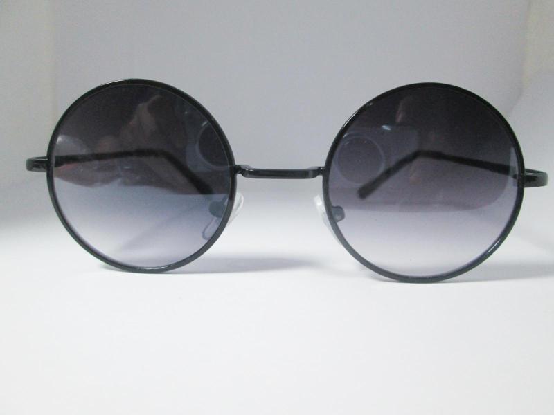 Giá bán Mắt kính trẻ em tròn Retro (đen)