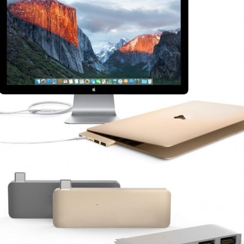 HyperDrive USB Type-C Hub with Mini DisplayPort (for 2016 MacBook Pro & 12″ MacBook) Hyper – Review sản phẩm