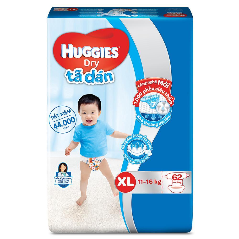 Cửa Hàng Bán Ta Dan Huggies Dry Super Jumbo Xl62