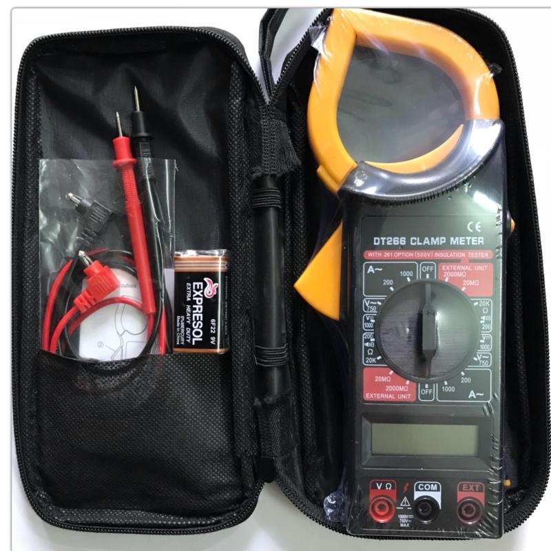 Bảng giá Đồng hồ đo vạn năng, Ampe kìm DT266 Phong Vũ