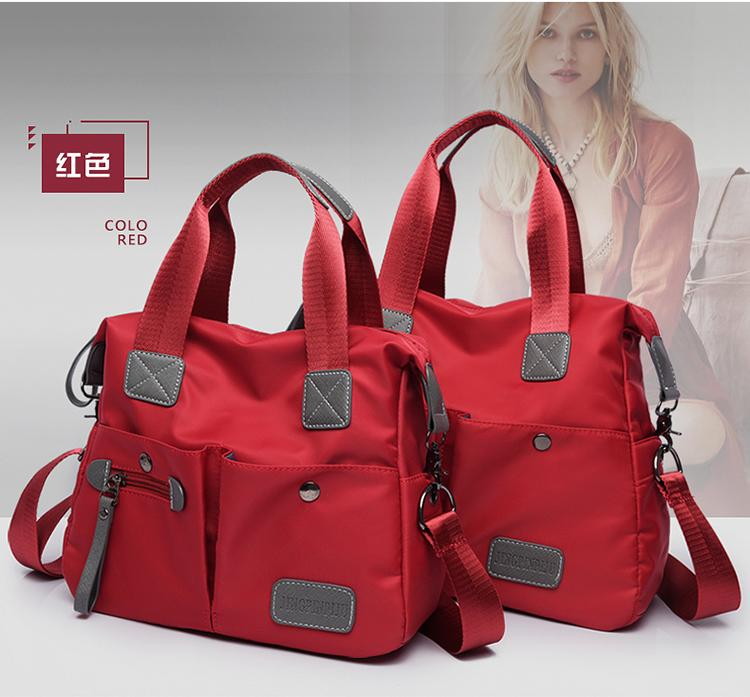 Handbag Shoulder Bag 2018 New Style Korean Style Large Capacity Backpack Waterproof Nylon Hop Trendy Bag
