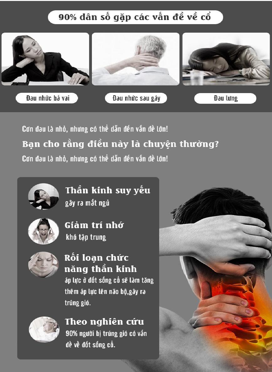 Hình ảnh Mua May Massage Toan Than, Máy MassageThông Minh MM895, nên mua máy massage xung điện loại nào - MÁY MASSAGE thông minh 3D hình chữ C thế hệ mới, massage cổ - vai - gáy, điều trị nhức mỏi vai gáy Bảo hành lỗi đổi mới cho quý khách hàng.