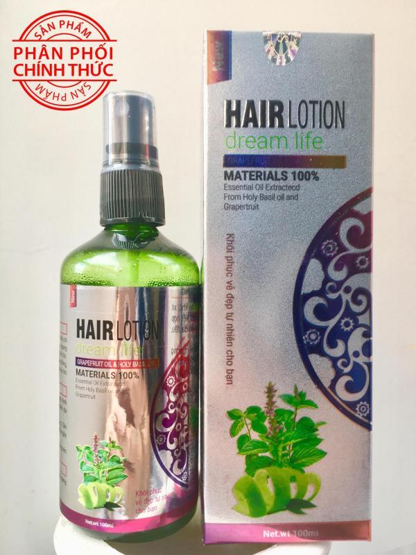 Xịt bưởi hương nhu Hair Lotion dream life 100ml cao cấp