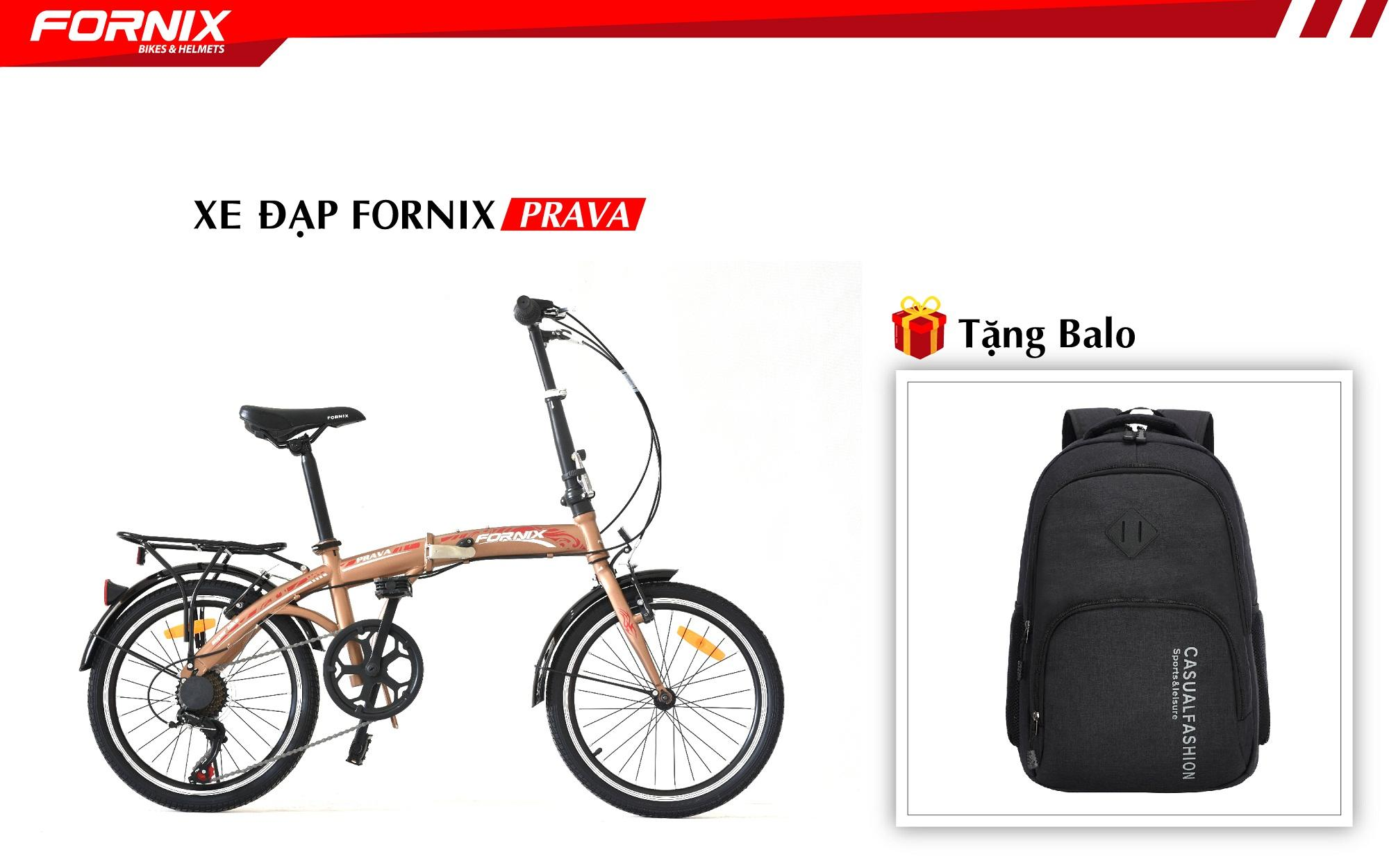 Xe đạp gấp hiệu FORNIX, mã PRAVA