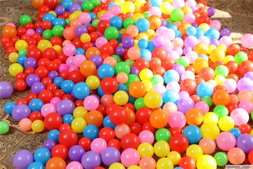 Hình ảnh Combo 300 Trái Bóng Nhựa Lớn Cho Bé