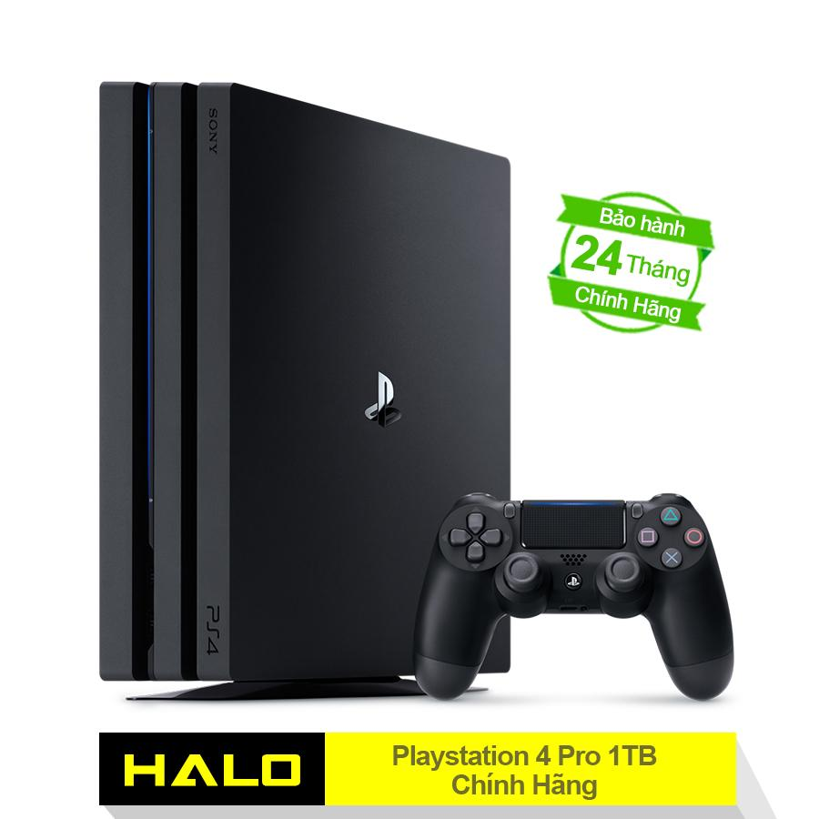 Bán May Chơi Game Sony Playstation 4 Pro 1Tb Combo 2018 Hang Phan Phối Chinh Hang Vietnam