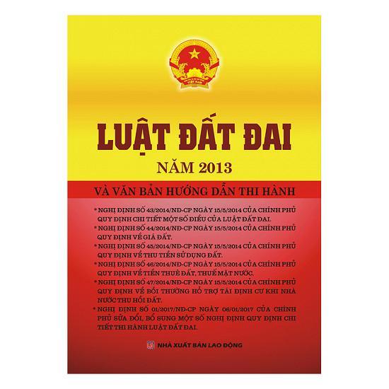 Mua Luật Đất Đai Năm 2013 Và Văn Bản Hướng Dẫn Thi Hành - Minh Ngọc
