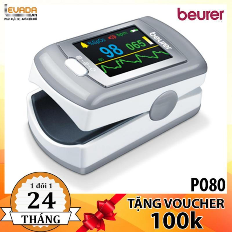 (TẶNG PMH 100K) Máy Đo Nồng Độ Oxy Trong Máu Beurer PO80 bán chạy