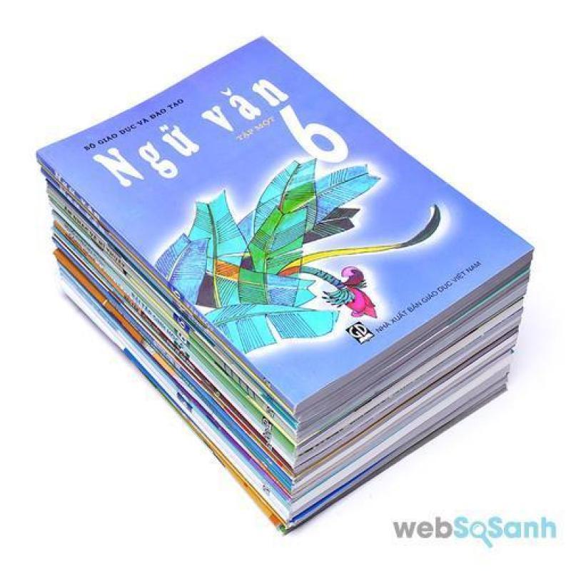Mua Trọn bộ sách giáo khoa lớp 6 ( gồm 19 cuốn sách và 2 tập bọc sách giáo khoa  ) chưa bao gồm sách tiếng anh