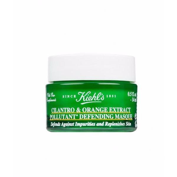Mặt Nạ Thải Độc Da Ban Đem Kiehls Cilantro Orange Extract Pollutant Defending Masque Minisize 14Ml Ngo Kiehls Chiết Khấu 30
