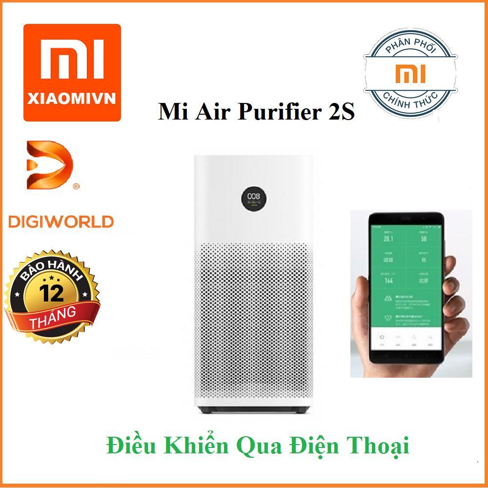 Bảng giá Máy lọc không khí Xiaomi Mi Air Purifier 2S - Hàng Digiworld