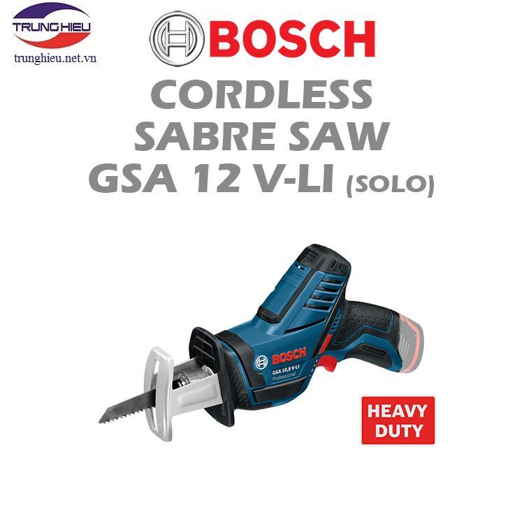 Máy cưa kiếm dùng pin Bosch GSA 12V-LI (2 pin 1.5Ah + 1 sạc)