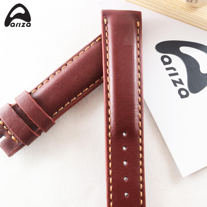 Hình ảnh Dây đồng hồ da da bò thật 100% ARIZA SIZE 20mm( Phat Tien Shop bảo hành 12 tháng)