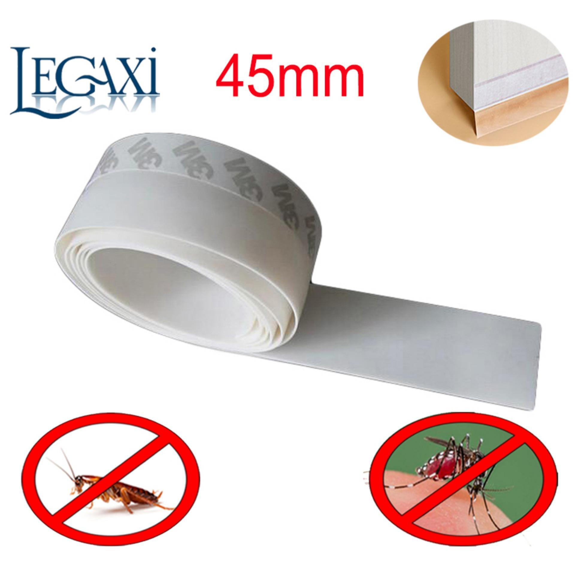 Ron Dán Chân Cửa Dài 2 mét Che Khe Hở Ngăn Côn Trùng Ruỗi Muỗi Gián  Rộng 45mm Legaxi SWE7