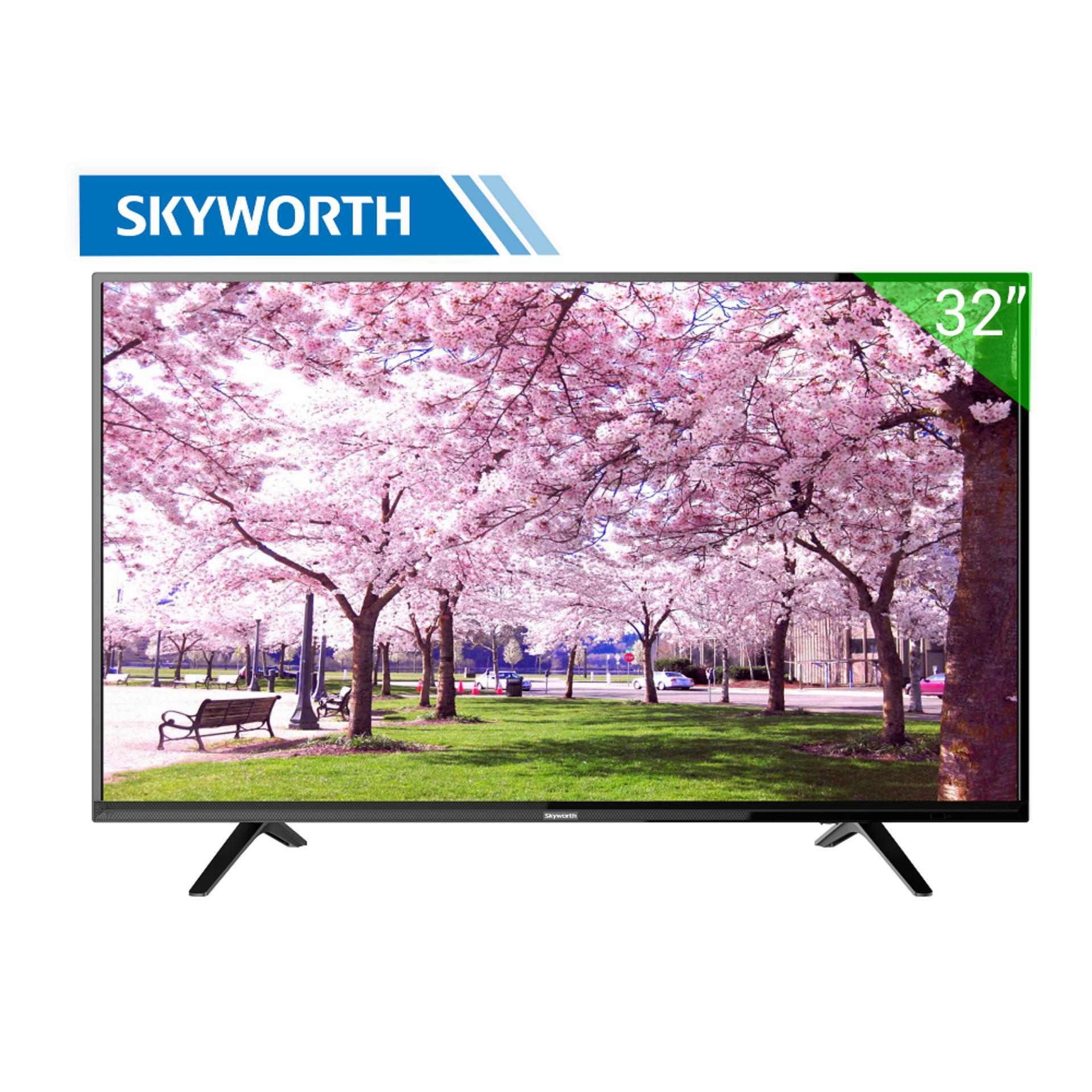 Hình ảnh Tivi LED Skyworth 32inch HD – Model 32E2A12G (Đen) - Hãng phân phối chính thức