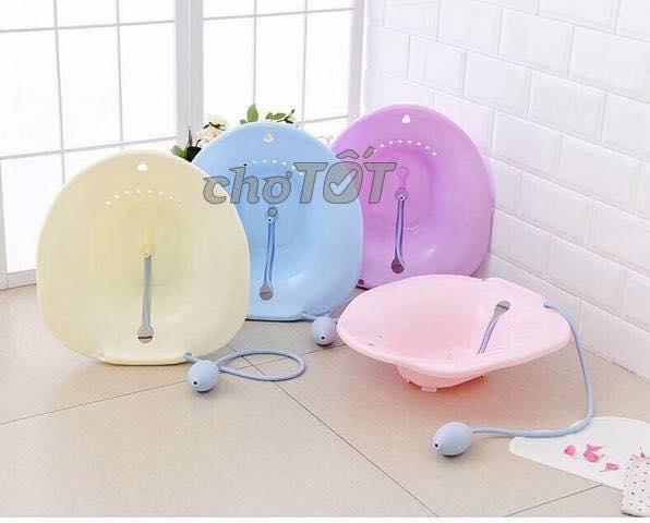 Chậu xông ,rửa vệ sinh phụ nữ (màu xanh, hồng) nhập khẩu