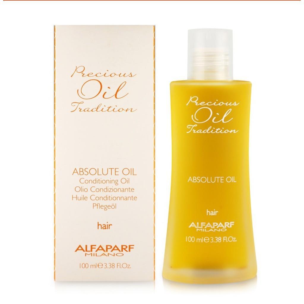Hình ảnh Tinh dầu dưỡng dành cho tóc uốn Alfaparf Milano Precious Oil Tradition Absolute Oil 100ml