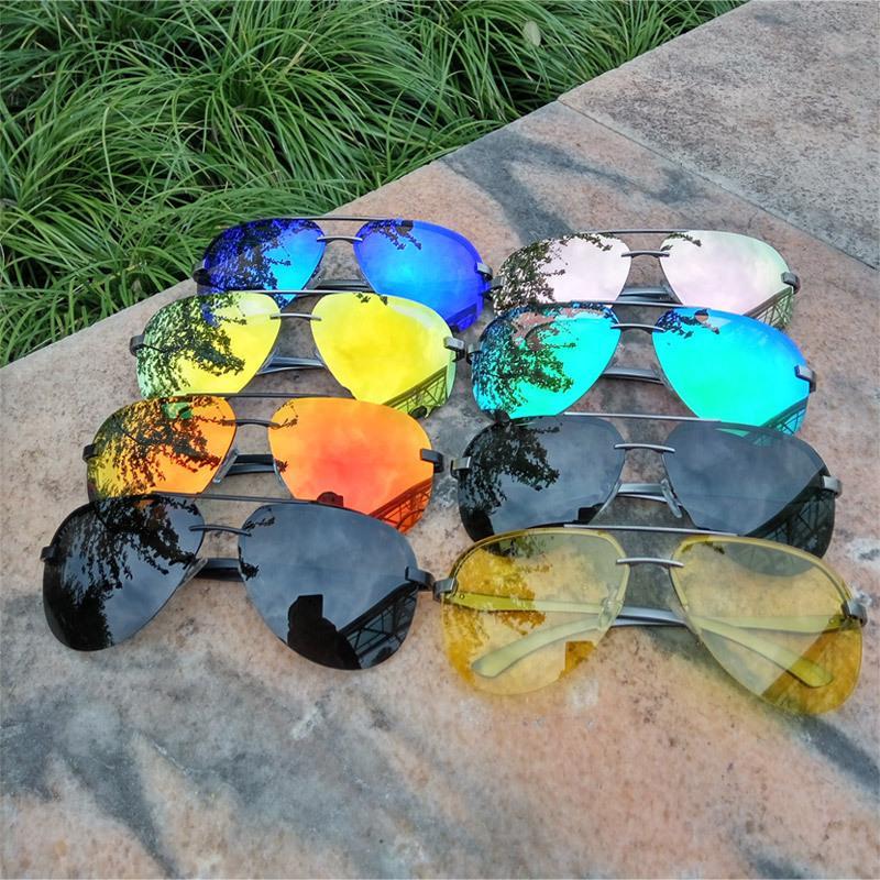 Lvvkee Baru Seksi Sinar Aviation Kaca Mata Pria Klasik Angkatan Laut Angkatan Udara Kacamata Hitam Penjualan Online HD Vision Hipster Pria Kacamata Gg -Internasional