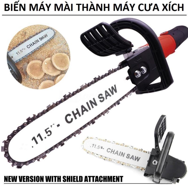 Bộ lưỡi lam xích lắp máy mài, máy cưa xich giá rẻ - phụ kiện của máy cắt gỗ