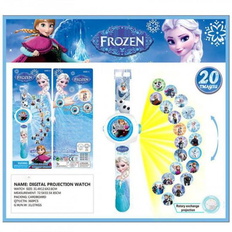 Đồng Hồ Điện Tử Đeo Tay Chiếu Hình 3D WLT22J Frozen bán chạy