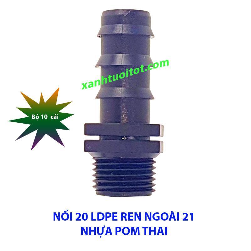 Hình ảnh Nối 20 ống LDPE ren ngoài 21