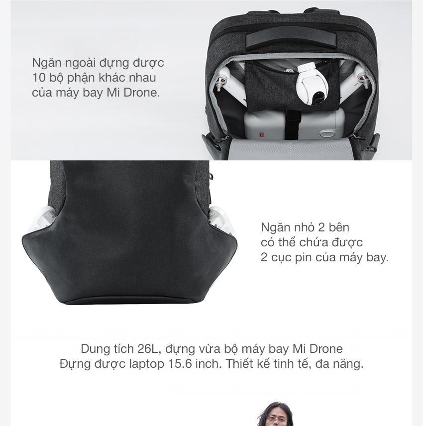 Balo Xiaomi Urban Thời trang