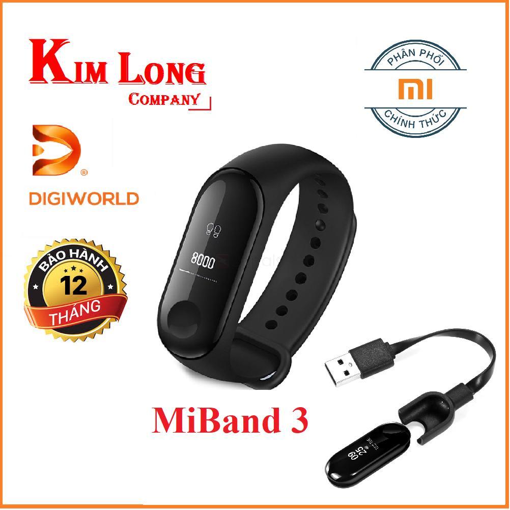 Hình ảnh Vòng đeo tay Xiaomi MIBAND 3 - Hàng Chính hãng DiGiWorld