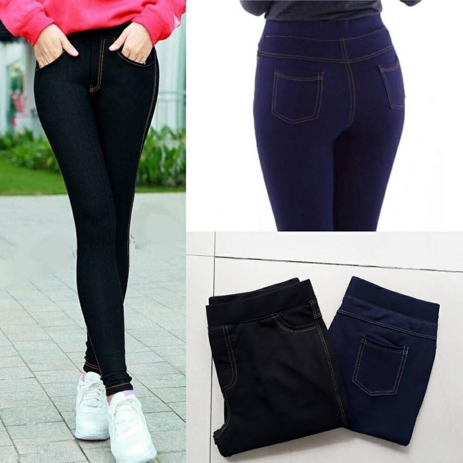 Bán Quần Legging Giả Jean Big Size Co Size 5Xl Cho Bạn Đến 86Kg Trực Tuyến